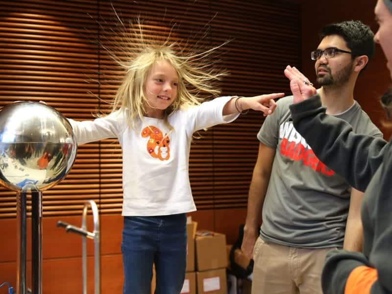 Hair-raising science