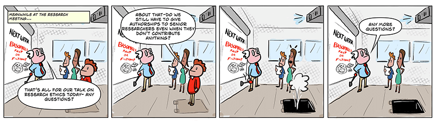 Noah Trapp's Cartoon