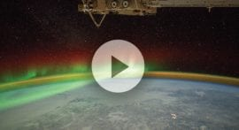 Why do the northern and southern lights only appear near the poles?