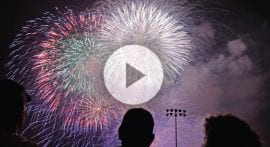 How do fireworks get their color and shape?