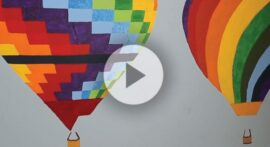 How does a hot air balloon work?