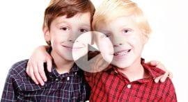 Why can eye color vary between siblings?