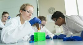Stem cells, microfluidics and drug discovery headline high school science camp