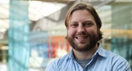 Adam Uselmann works to advance imaging tech in new postdoctoral fellowship