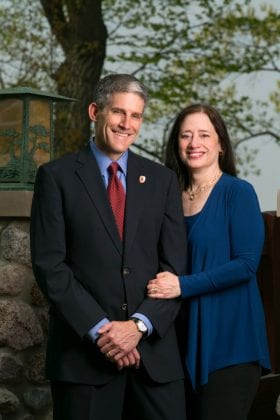 Dr. James Berbee and Karen Walsh
