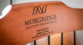 New Pyle Chair honors Morgridge affiliate Joshua Coon