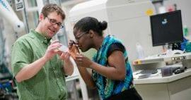 Morgridge forges into microfluidics