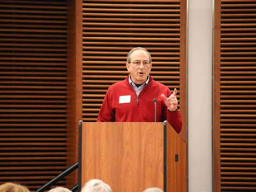 Brad Schwartz, CEO of the Morgridge Institute for Research, spoke on the future of regenerative medicine.
